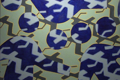 BLUE PEDESTRIANS